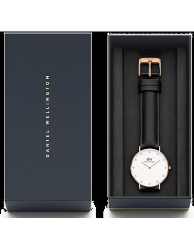 Chic Time | Montre Femme Daniel Wellington Classy Sheffield 34 mm DW00100076 Noir  | Prix : 84,50€