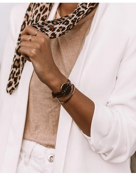 Chic Time | Montre Femme Daniel Wellington Classic DW00100165 Brun  | Prix : 111,75€