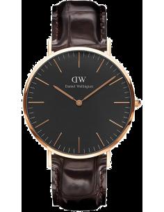 Chic Time | Montre Homme Daniel Wellington Classic Black York Rose Gold DW00100128  | Prix : 113,40€