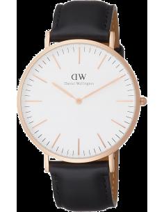 Chic Time | Montre Homme Daniel Wellington Classic DW00100007 Noir  | Prix : 113,40€