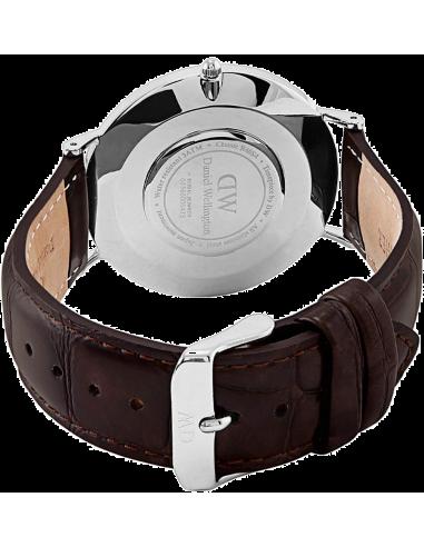 Chic Time | Montre Homme Daniel Wellington Classic Black York Silver DW00100134  | Prix : 94,50€