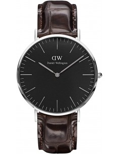 Chic Time | Montre Homme Daniel Wellington Classic Black York Silver DW00100134  | Prix : 113,40 €