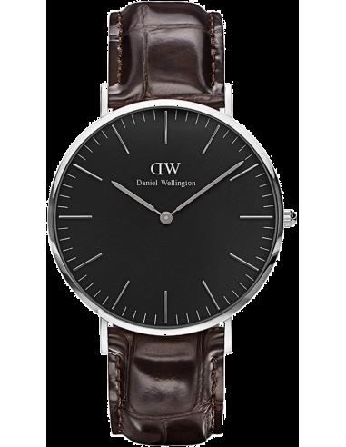 Chic Time | Montre Homme Daniel Wellington Classic Black York Silver DW00100134  | Prix : 113,40€