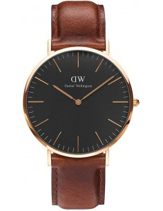 Chic Time | Montre Daniel Wellington Classic Black ST Mawes DW00100124  | Prix : 113,40€