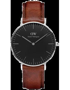 Chic Time | Montre Femme Daniel Wellington Classic Black ST Mawes Silver DW00100142  | Prix : 101,40€