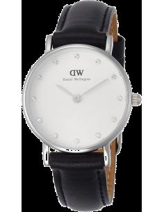 Chic Time | Montre Daniel Wellington Classy Sheffield DW00100068 Bracelet cuir noir  | Prix : 77,40€