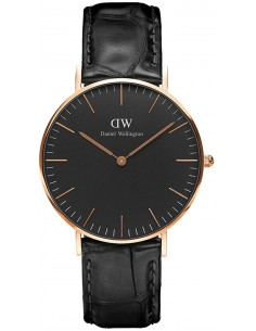 Chic Time | Montre Homme Daniel Wellington Classic Black DW00100129 Noir  | Prix : 113,40 €