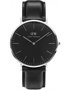 Chic Time | Montre Daniel Wellington Classic Black DW00100133 Noir  | Prix : 132,30 €