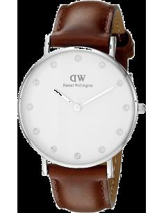 Chic Time | Montre Femme Daniel Wellington Classy St Mawes DW00100079 Marron  | Prix : 101,40€