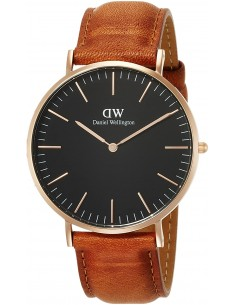Chic Time | Montre Daniel Wellington Classic Black Durham DW00100126  | Prix : 94,50 €