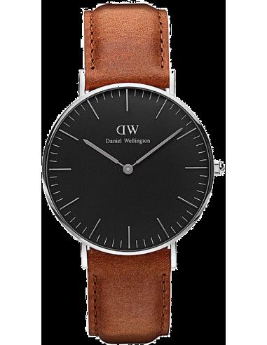 Chic Time | Montre Daniel Wellington Classic Black Durham Silver DW00100132  | Prix : 132,30€