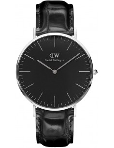 Chic Time | Montre Homme Daniel Wellington Classic Black Reading Silver DW00100135  | Prix : 132,30 €