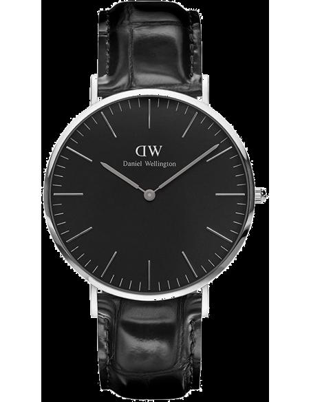 Chic Time | Montre Homme Daniel Wellington Classic Black Reading Silver DW00100135  | Prix : 132,30€