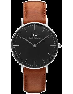 Chic Time | Montre Daniel Wellington Classic Black Durham Silver DW00100144  | Prix : 101,40€