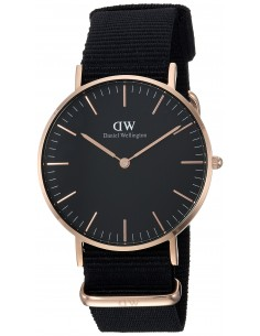 Chic Time | Montre Daniel Wellington Classic Black Cornwall DW00100150 Noir  | Prix : 83,40 €