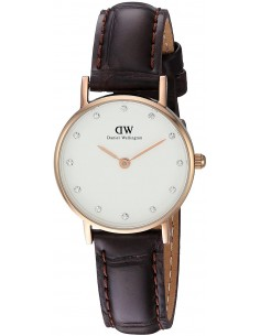 Chic Time | Montre Femme Daniel Wellington Classy York DW00100061 Marron  | Prix : 77,40 €