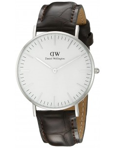 Chic Time | Montre Femme Daniel Wellington Classic York 0610DW Marron  | Prix : 101,40 €