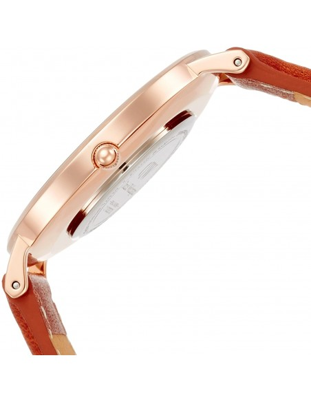 Chic Time | Montre Daniel Wellington Classic Black Durham DW00100138 bracelet en cuir marron  | Prix : 101,40€