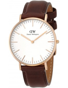 Chic Time | Montre Daniel Wellington Classic 0511DW Marron  | Prix : 101,40 €