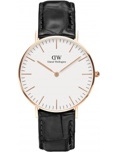 Chic Time | Montre Daniel Wellington Classic 0513DW Noir  | Prix : 99,50 €