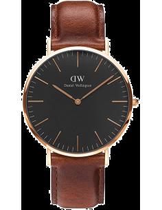 Chic Time | Montre Femme Daniel Wellington Classic Black ST Mawes Rose Gold DW00100136  | Prix : 143,65€