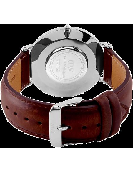 Chic Time | Montre Homme Daniel Wellington Classic Black ST Mawes Silver DW00100130  | Prix : 132,30€