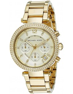 Chic Time | Montre Femme Michael Kors Parker MK5354 Or  | Prix : 279,00 €