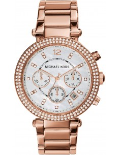 Chic Time | Montre Femme Michael Kors Parker MK5491 Or Rose  | Prix : 139,50 €