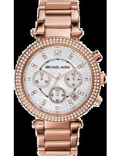 Chic Time | Montre Femme Michael Kors Parker MK5491 Or Rose  | Prix : 139,50€