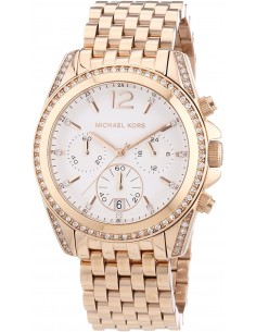 Chic Time   Montre Femme Michael Kors Pressley MK5836 Bracelet en acier doré rose    Prix : 139,50€