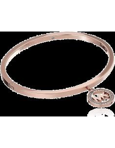 Chic Time | Bracelet Michael Kors MKJ4838791 breloque MK strassée  | Prix : 119,20€