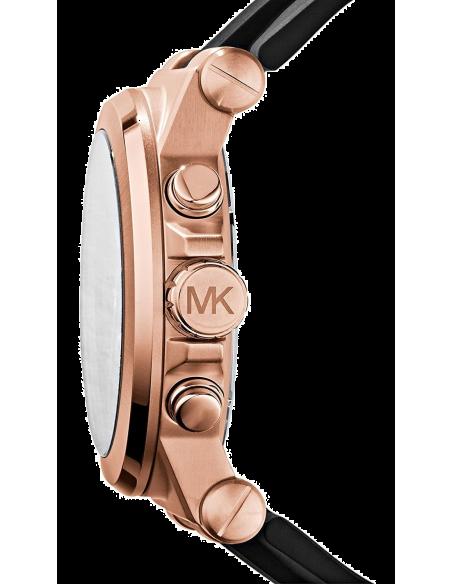 Chic Time | Montre Homme Michael Kors MK8184 Dylan Noir & Or Rosé  | Prix : 149,40€