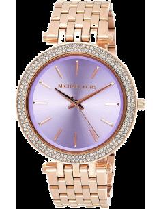 Chic Time | Montre Femme Michael Kors Darci MK3400 Or Rose Cadran bleu  | Prix : 124,50€