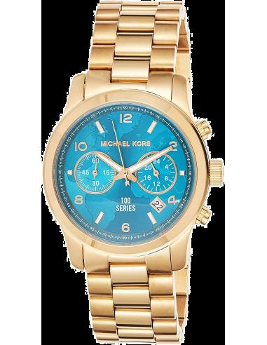 Chic Time | Montre Femme Michael Kors Hunger Stop MK5815 Bracelet Doré en acier inoxydable  | Prix : 279,00€
