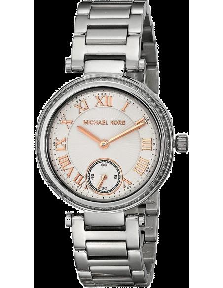 Chic Time | Montre Femme Michael Kors Skylar MK5970 Bracelet Argenté En Acier Inoxydable  | Prix : 199,20€