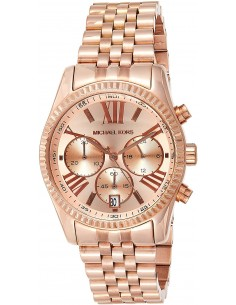 Chic Time | Montre Femme Michael Kors MK5569 Or Rose Lexington  | Prix : 124,50 €
