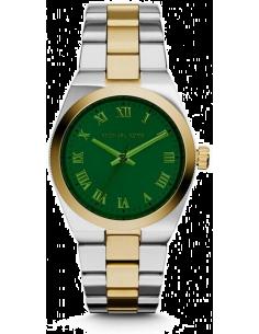 Chic Time | Montre Femme Michael Kors Channing MK5991 Bracelet doré et argenté en acier inoxydable  | Prix : 183,20€