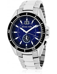 Chic Time | Montre Homme Michael Kors JetMaster MK8400 Argent  | Prix : 179,40€