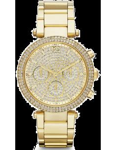 Chic Time | Montre Femme Michael Kors Parker MK5856 Bracelet Doré En Acier Inoxydable  | Prix : 254,15€