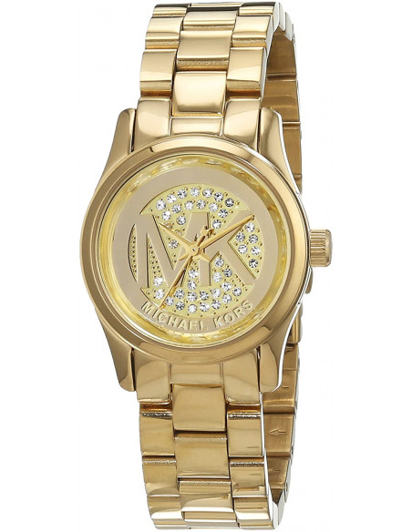 Chic Time | Montre Femme Michael Kors Runway MK3304 Or Logo dans le cadran  | Prix : 186,15€