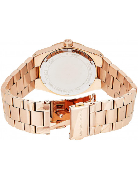 Chic Time | Montre Femme Michael Kors Channing MK6090 Or Rose  | Prix : 211,65€
