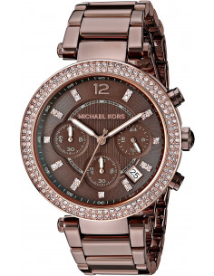 Chic Time | Montre Femme Michael Kors Parker MK6378 Marron  | Prix : 225,10 €