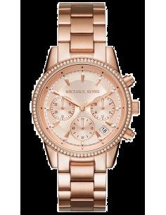 Chic Time   Montre Femme Michael Kors Ritz MK6357 Or Rose    Prix : 259,00€