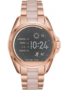 Chic Time | Montre Connectée Femme Michael Kors Access Bradshaw MKT5013 Or Rose  | Prix : 329,00 €