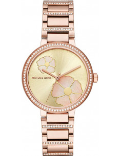 Chic Time | Montre Femme Michael Kors Courtney MK3836 Acier or rose  | Prix : 149,99 €