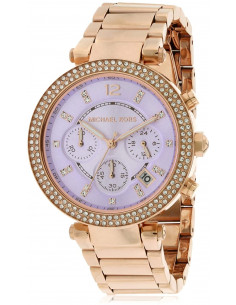 Chic Time | Montre Femme Michael Kors Parker MK6169 Or Rose et strass  | Prix : 223,20 €