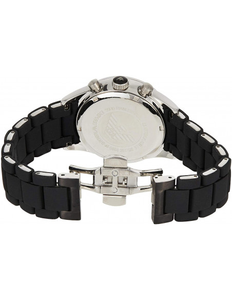 Chic Time | Montre Homme Emporio Armani Sportivo AR5866 Noir  | Prix : 224,25€