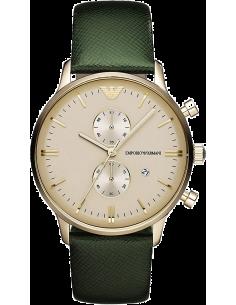 Chic Time | Montre Homme Armani Retro AR1722 Vert  | Prix : 319,20€