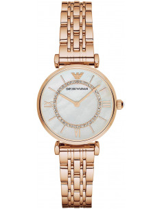 Chic Time | Montre Femme Armani Classic AR1909 Or Rose  | Prix : 207,20 €