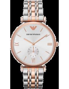 Chic Time | Montre Homme Emporio Armani Retro AR1677 Bracelet Acier Bicolore  | Prix : 349,00€